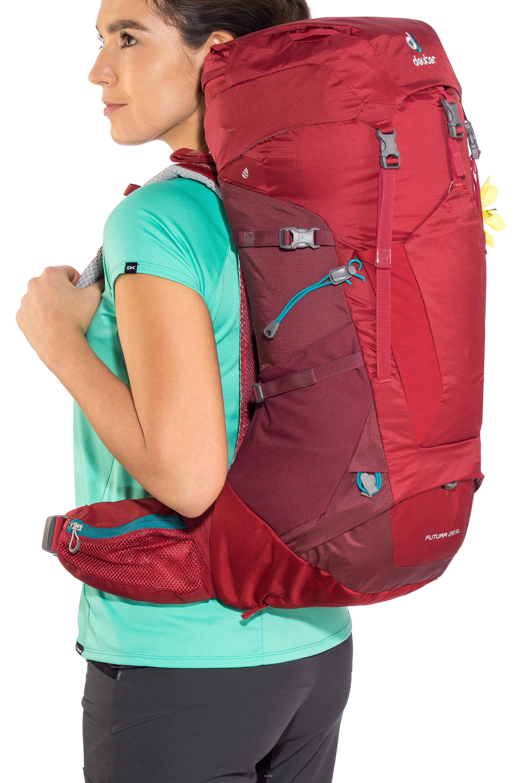 4c6acee9f1b0d Deuter Futura 28 SL Backpack Women cranberry-maron